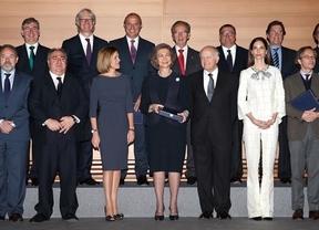 La Reina Sofía recibe el galardón de la Real Fundación de Toledo por su