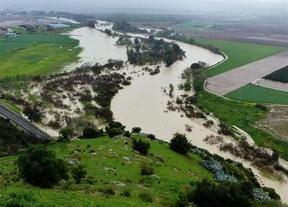 Protección Civil avisa de posible desbordamiento de ríos en todas las cuencas hidrográficas
