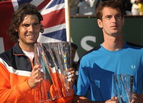 Murray amenaza (más) al lesionado Nadal con desbancarle del tercer puesto en la lista ATP