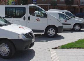 Vehículos del Ayuntamiento de Azuqueca