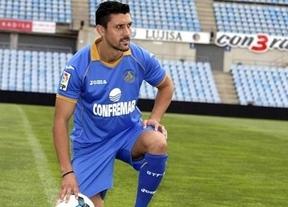 Marica se cambia el nombre de su camiseta tras fichar por el Getafe
