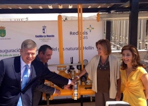 Cospedal inaugura la llegada del gas natural a Hellín