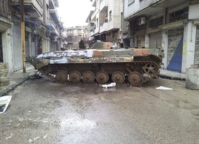 Cruce de acusaciones entre el gobierno sirio y los grupos armados: hay periodistas 'atrapados'