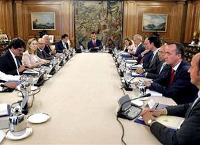 Felipe VI se estrena en el Consejo de Seguridad Nacional incentivando estrategias para preservar el Estado de Derecho
