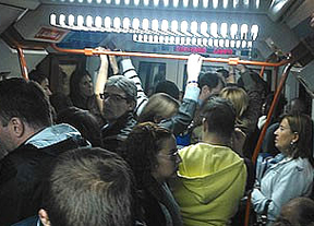 Huelga Metro Madrid: cientos de personas quedaron atrapadas en un sabotaje a 5 trenes