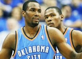 Los Oklahoma Thunder de Serge Ibaka saben sufrir para derrotar a Sacramento (118-110)