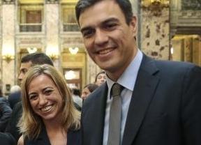 El culebrón también sigue en el PSOE: Chacón amaga con ir a las primarias y Sánchez menosprecia su