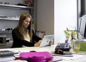 María Gómez del Pozuelo, una emprendedora concienciada con el 'emprendimiento de género', crea Womenalia