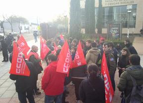 CCOO denuncia incidentes entre universitarios y la policía en el campus de Ciudad Real