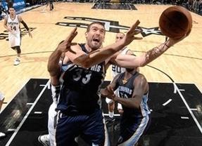 Marc, de nuevo fundamental en la agónica victoria de 'sus' Grizzlies ante los líderes Spurs (116-117)