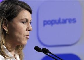 Cospedal asegura que el PP está tranquilo y vuelve a negar irregularidades en sus cuentas