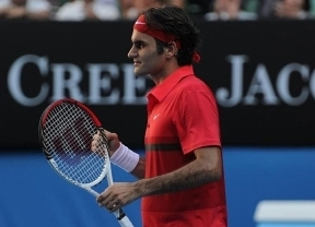 Otro récord para Federer: vapulea en su partido mil a Del Potro en el Open de Australia