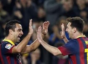 Resultado engañoso en el Nou Camp: el Barça sufre, aunque acaba goleando y se acera al liderato (4-1)