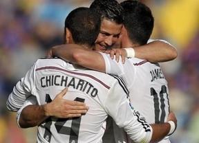 De 'manita' en 'manita'. Ronaldo vuelve a salirse y encabeza la paliza a un Levante que jugó muy asustado (0-5)