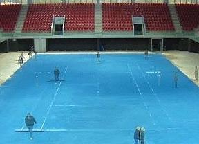 El tenis se viste del color del PP: la pista del Mutua Madrileña Open en 2012 será azul