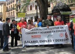 El jueves 30 de abril, los empleados ya salieron a la calle