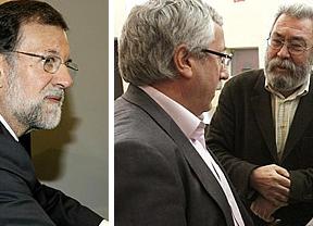 Rajoy: primera prueba de fuego en su reunión de hoy con sindicatos y patronal