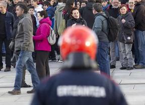 La Ertzaintza abandonará el uso de pelotas de goma en 2013