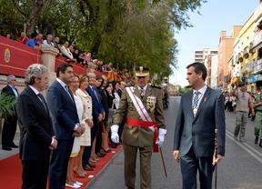 Dos consejeros de Cospedal en un acto homenaje a la bandera