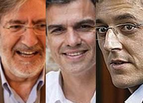 Los candidatos hacen un llamamiento a la participación en un día clave para el PSOE