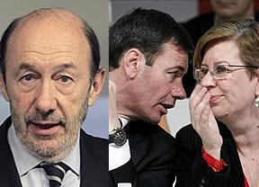 Rubalcaba pretende un 'ERE' de filtradores en el PSOE: Maru Menéndez peligra