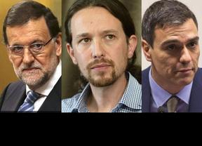Podemos celebra los datos del CIS; el PP les obvia como rival; el PSOE denuncia la 'cocina' de la encuesta e IU no tira la toalla