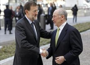Rato 'huye' asegurando que deja Bankia con 'un nivel de solvencia muy alto'