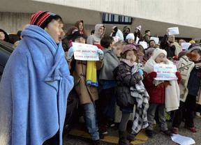 Los colegios de Valencia no ponen la calefacción... porque no quieren