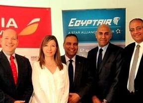 Iberia y Egyptair renuevan su contrato de handling