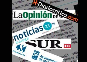 Periodistas de Noticias21, Diariocrítico, SUR, Opinión y Promálaga analizan este jueves en Málaga el 'papel de lo digital'