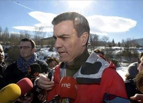 Pedro Sánchez se pone la venda y pide que nadie