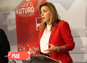Susana Díaz abre la puerta al adelanto electoral en Andalucía justo tras los últimos sondeos