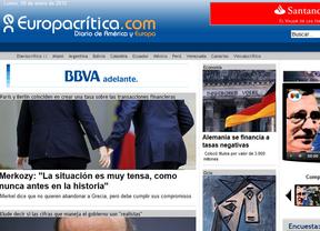 Nace la nueva apuesta europea de Diariocrítico: Europacrítica.com