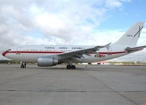 Demostración de fuerza para tapar las dudas: un segundo avión va en busca del Príncipe