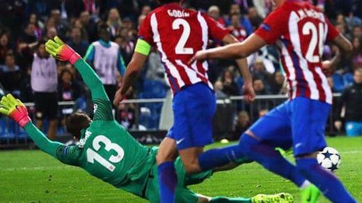 Oblak y su triple parada: vea el vídeo del momento en el Atlético-Leverkusen