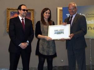 David Blázquez ilustra el cupón de la ONCE dedicado a Toledo Patrimonio de la Humanidad