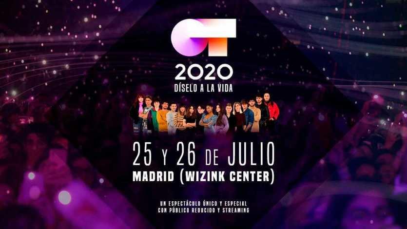'Operación Triunfo' ofrecerá dos conciertos únicos en Madrid