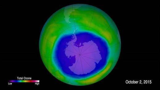 El agujero de la capa de ozono toca máximos: superó este año el tamaño de toda América del Norte
