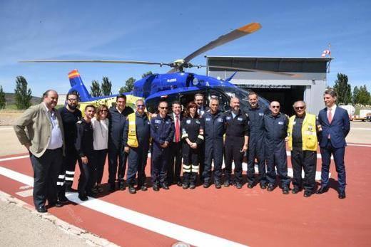 A la vanguardia internacional en la atención de las urgencias y emergencias con medios aéreos