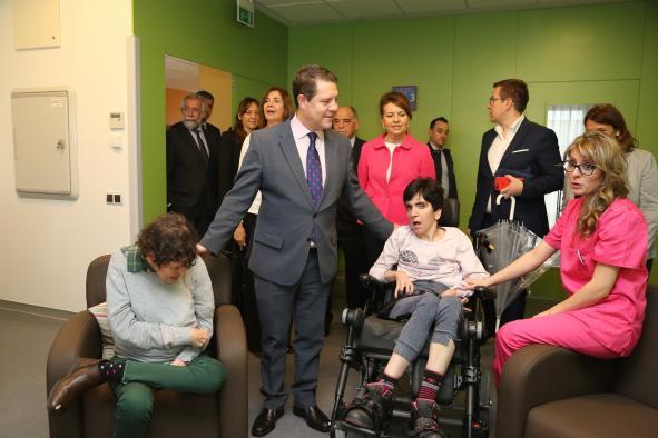 García-Page felicita la Navidad destacando la futura Ley de Discapacidad