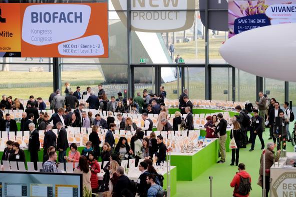 Castilla-La Mancha presenta en BIOFACH 2018, aceite de oliva, vino, frutos secos y setas, de producción ecológica