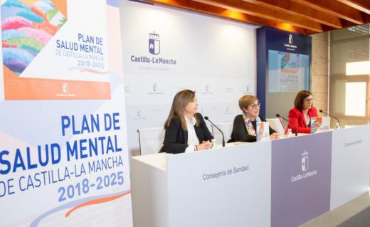 Presentación del Plan de Salud Mental de Castilla-La Mancha 2018-2025