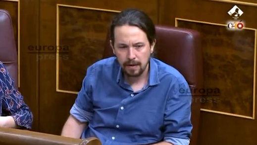 Las lágrimas de Pablo Iglesias en el Congreso, protagonistas del día