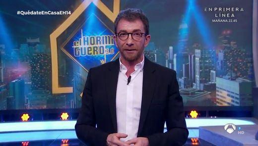 El polémico discurso de Pablo Motos en 'El Hormiguero' contra la gestión política del coronavirus