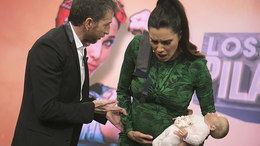 Pilar Rubio finge un parto en directo en 'El Hormiguero' y Pablo Motos se lo cree