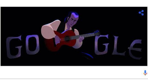 Paco de Lucía, homenajeado por Google con motivo del que sería su 69º cumpleaños