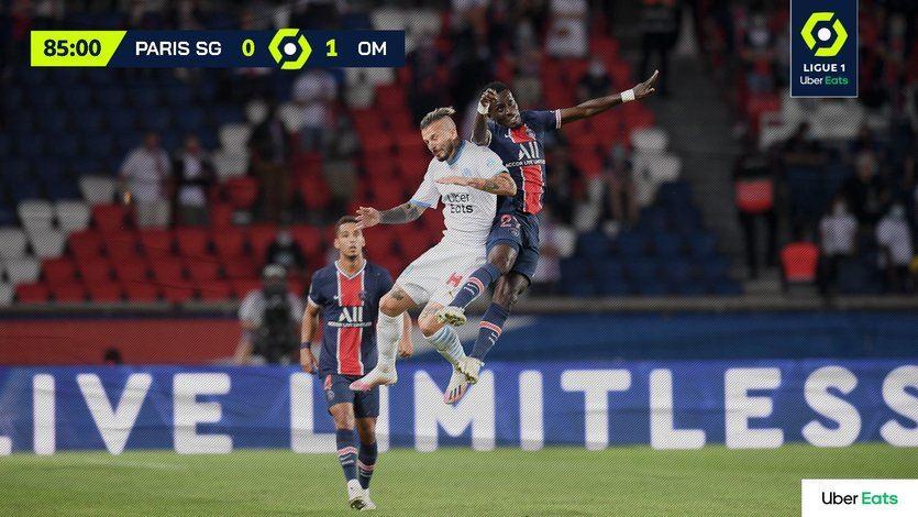 Supuesto escándalo racista en el clásico de la liga francesa, PSG-Marsella