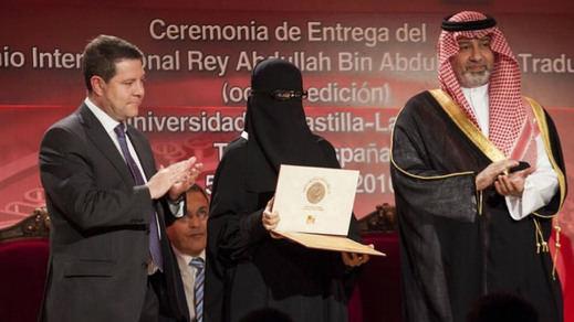 La polémica de García-Page y su foto con una mujer con burka