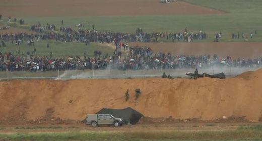 Aumenta la tensión en la Franja de Gaza: 16 palestinos muertos en enfrentamientos con Israel