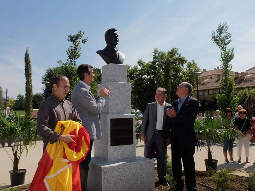 Guadalajara inaugura un parque dedicado a Adolfo Suárez
